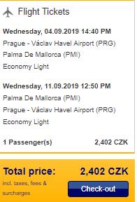 Prázdninová Mallorca z Prahy za 2 402 Kč