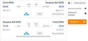 Bali z Prahy za 13 512 Kč