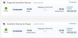 Prodloužený víkend ve Stockholmu z Prahy od 918 Kč