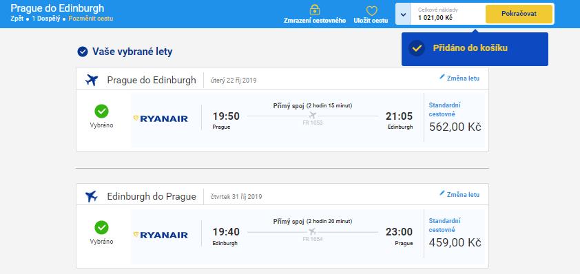 2v1: Skotsko + Faerské ostrovy z Prahy za 4 789 Kč