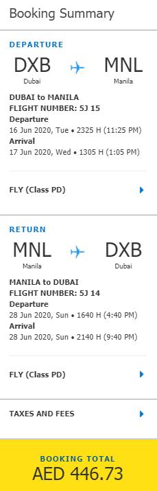 Filipíny z Dubaje za 2 827 Kč