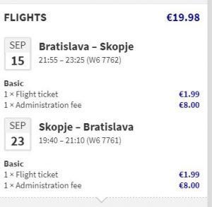 Severní Makedonie - Skopje z Bratislavy od 515 Kč