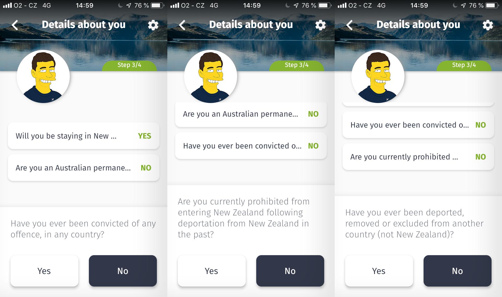 Jak vyplnit formulář NZeTA