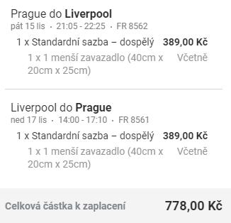 Liverpool & Manchester z Prahy na víkend od 778 Kč