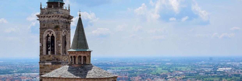Itálie – Bergamo z Prahy
