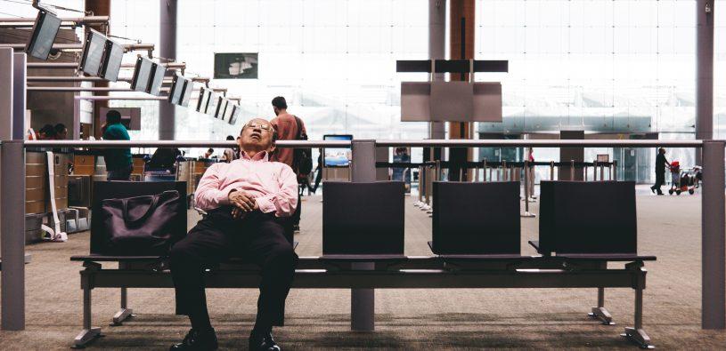 Spaní na letišti