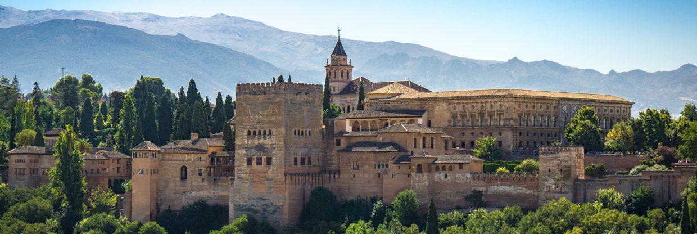 Španělsko – Granada z Berlína