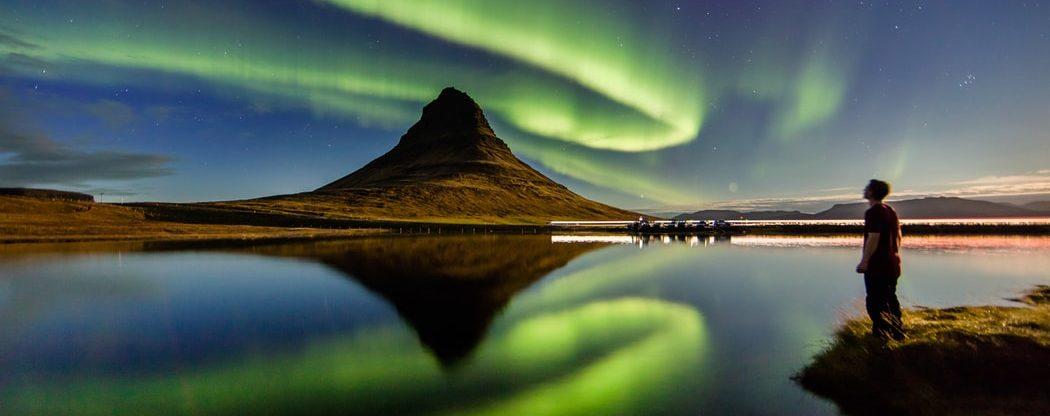 Podzimní Island z Vídně