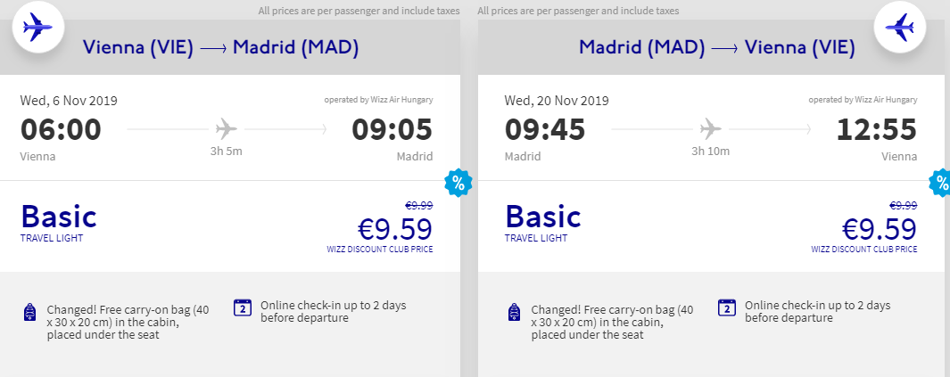 Madrid + New York z Vídně za 5 540 Kč