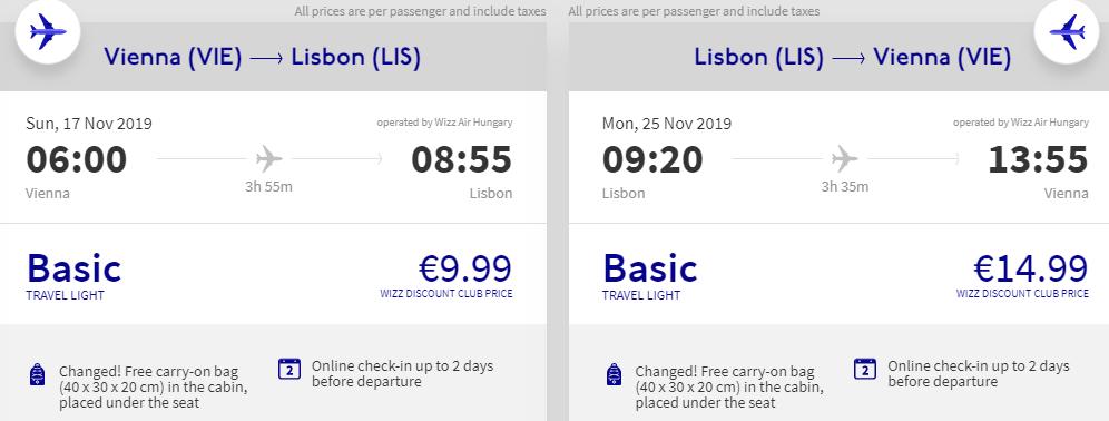 Lisabon + Azory z Vídně za 1 547 Kč