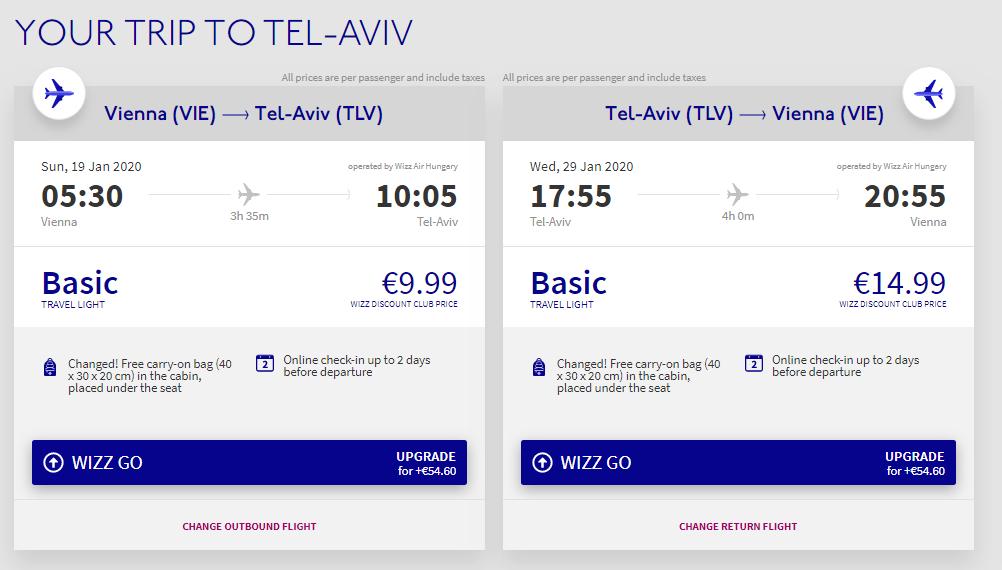 Izrael - Tel Aviv z Vídně za 646 Kč