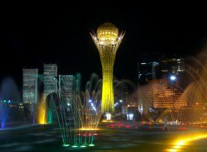 Noc v Nursultanu za dolar