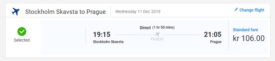 Švédská města křížem krážem z Prahy od 508 Kč