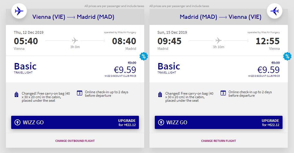 Madrid z Vídně na prodloužený víkend za 512 Kč