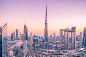 Hotel při přestupu v Dubaji