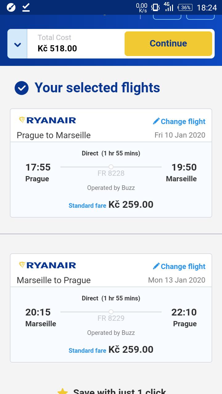 Francie – Marseille na prodloužený víkend z Prahy za 518 Kč
