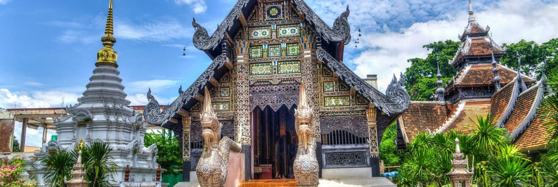 Thajsko - Chiang Mai z Prahy s Qatarci