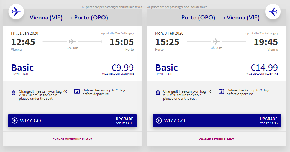 Portugalsko – Porto z Vídně od 638 Kč