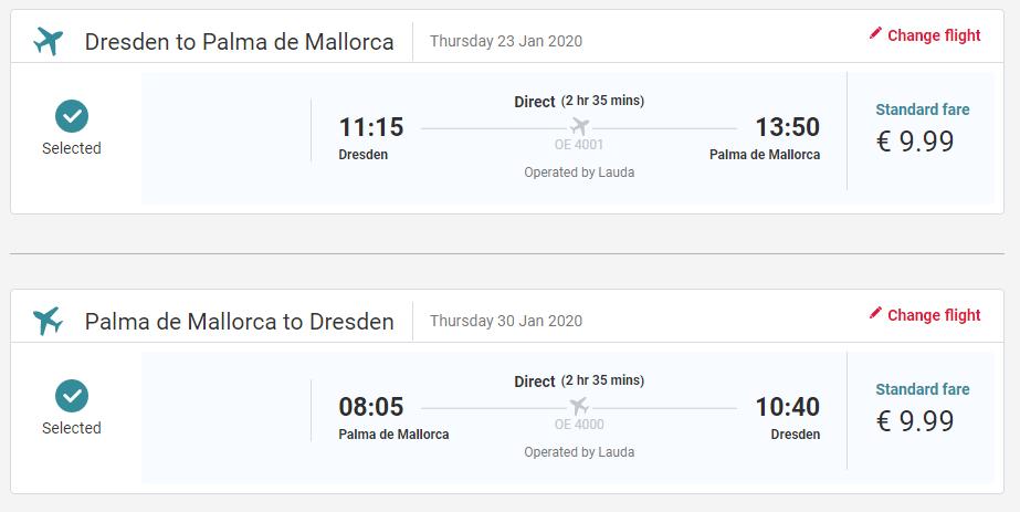 Mallorca z Drážďan přes zimu od 510 Kč