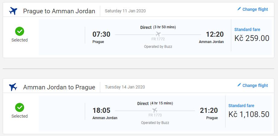 Jordánsko – Ammán z Prahy od 1 368 Kč