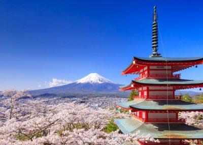 Japonsko v Business třídě z německých letišť s 5* aerolinkou