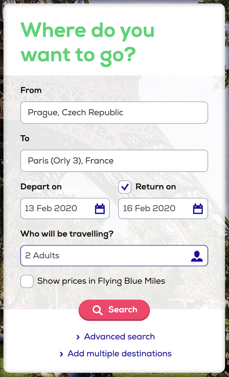Jak koupit letenku