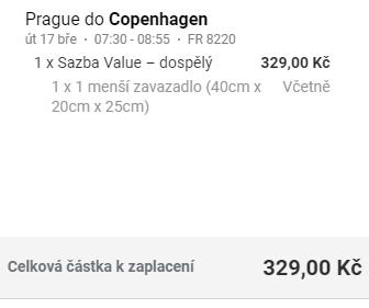 Jednodenní trip z Prahy do Kodaně