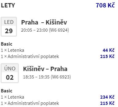 Do Moldavska na prodloužený víkend z Prahy