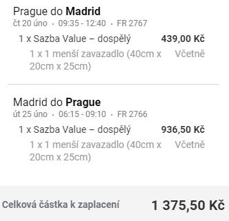 Do Madridu na prodloužený víkend - z Prahy a Vídně