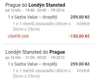 Londýn z Prahy na prodloužený víkend