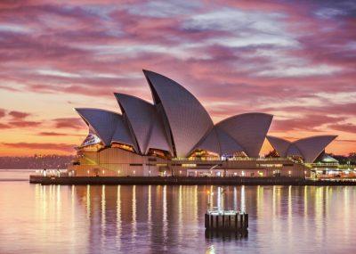 Austrálie - Sydney z Prahy a návratem do Mnichova