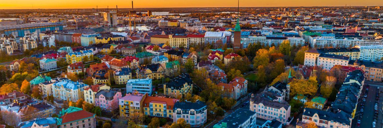 Finsko: Helsinky z Vídně