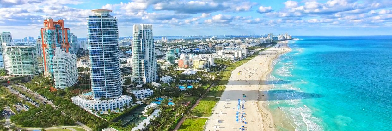 Prosluněná Florida: Miami z Prahy během jara