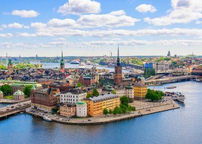 z Prahy do Stockholmu