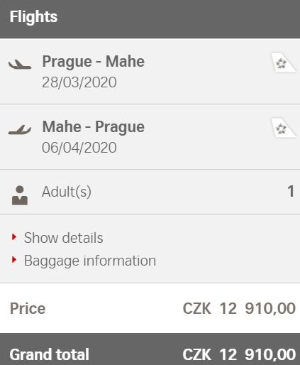 Za nádhernými plážemi z Prahy na Seychely