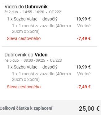 Chorvatský Dubrovník z Vídně