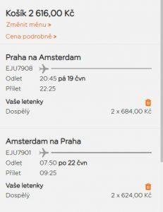 Amsterdam z Prahy na prodloužený víkend