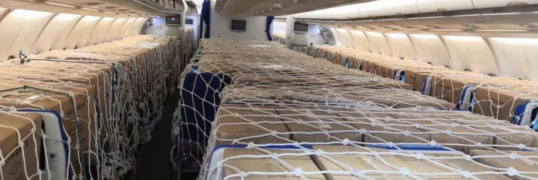 Letecké společnosti provozují nákladní lety s osobními letadly
