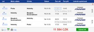 Z Prahy do Thajska s odbaveným zavazadlem
