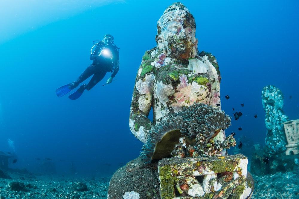 Jak vybrat kurz potápění?