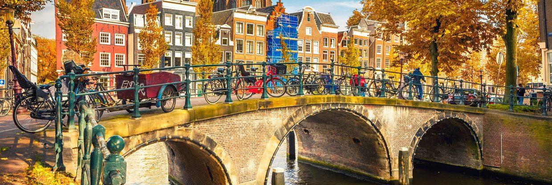 Amsterdam klidně jen na víkend z Prahy