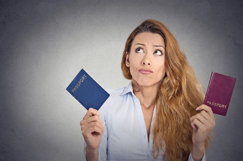 Proč je dobré mít dva cestovní pasy