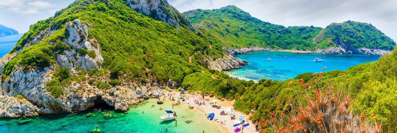 Řecké ostrovy: levné letenky z Vídně o letních prázdninách