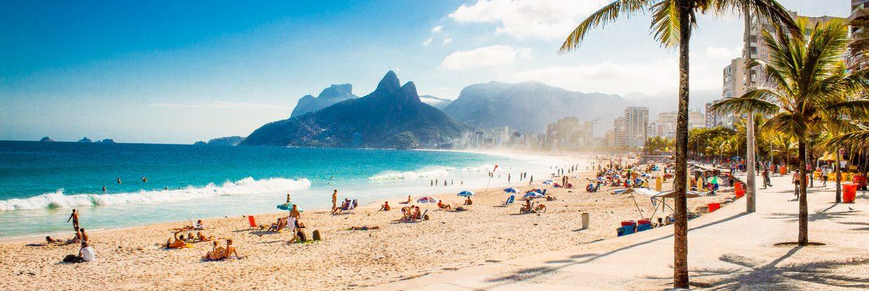 Rio de Janeiro otevřelo pláže – letenky z Prahy
