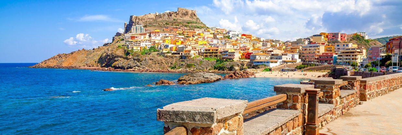 Červencová Sardinie: Alghero z Vídně