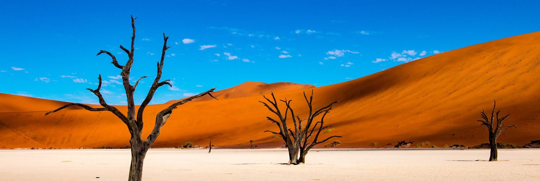 Krásná a nespoutaná Namibie z Prahy s Qatar Airways