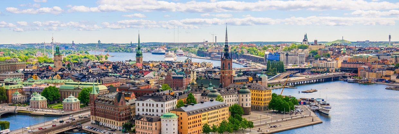 Z Prahy do Stockholmu na prodloužené víkendy