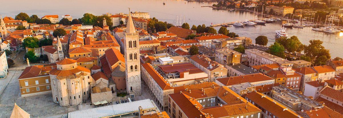 Prázdninové letenky do Chorvatska: Zadar z Prahy