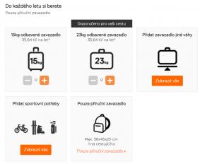 Easyjet nabízí nejen odbavené zavazadlo za 1 €