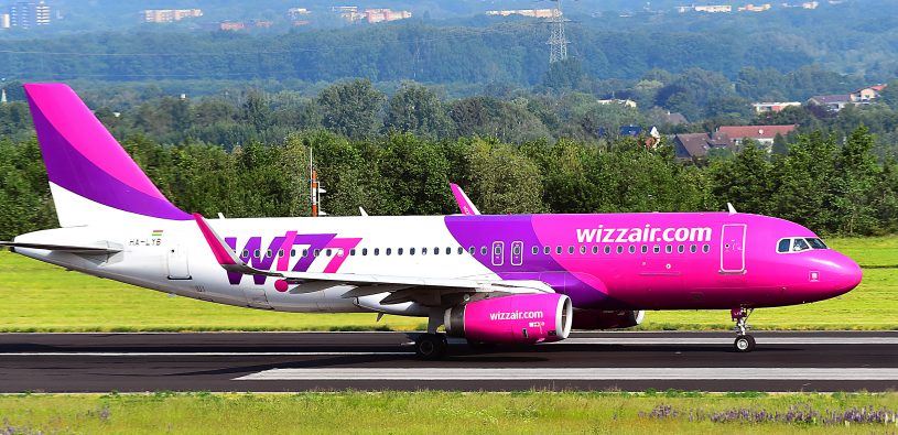 Wizz Air: nové linky z Abú Dhabí (Budapešť, Katowice atd.)